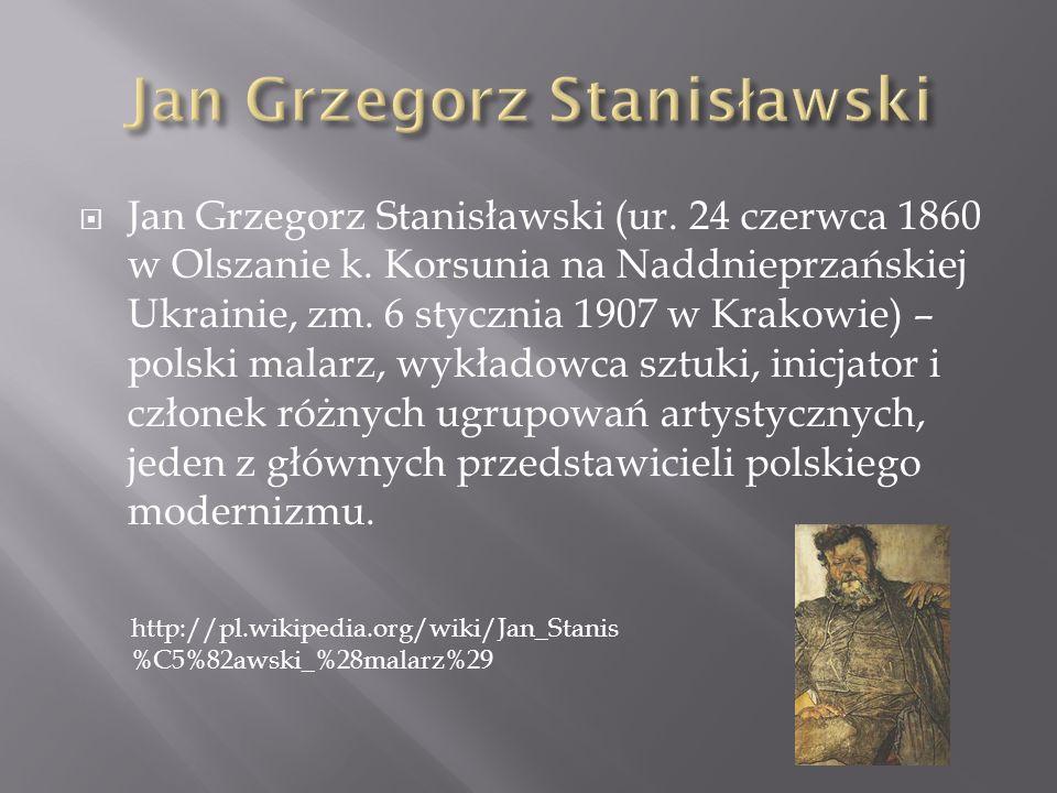 Jan Grzegorz Stanisławski