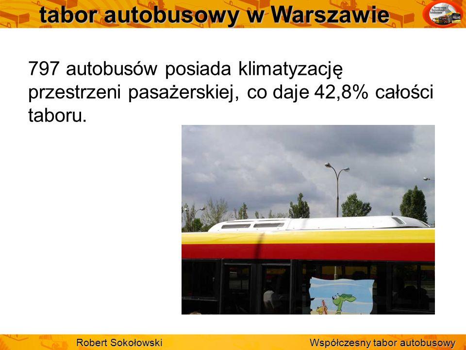 tabor autobusowy w Warszawie