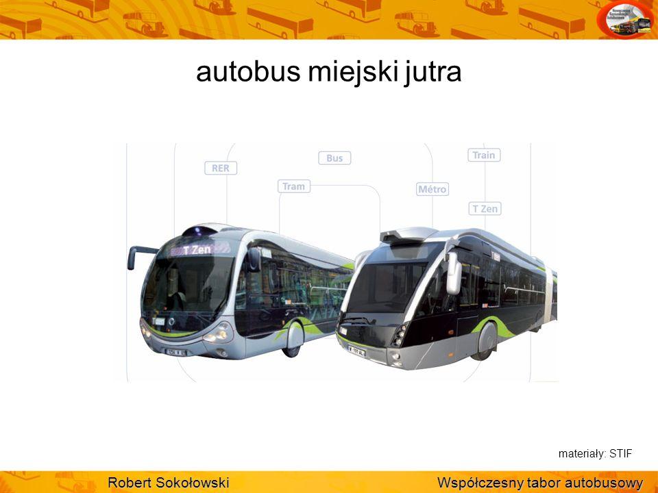 autobus miejski jutra Robert Sokołowski Współczesny tabor autobusowy
