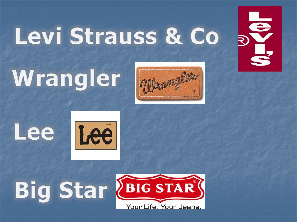 Levi Strauss & Co Wrangler Lee Big Star