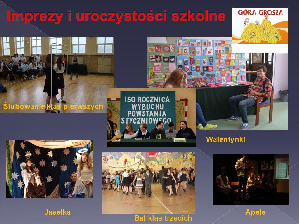 Imprezy i uroczystości szkolne