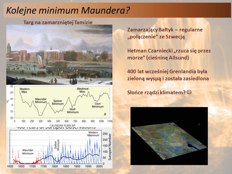 Kolejne minimum Maundera