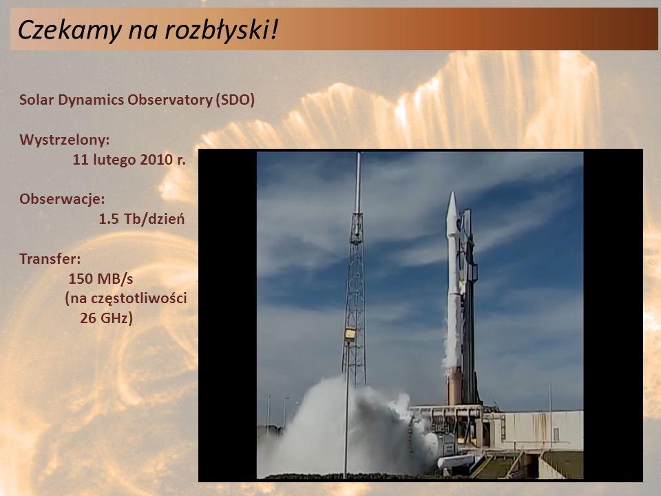 Czekamy na rozbłyski! Solar Dynamics Observatory (SDO) Wystrzelony: