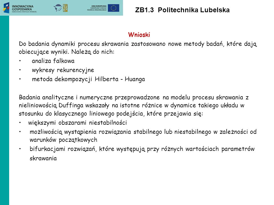 ZB1.3 Politechnika Lubelska