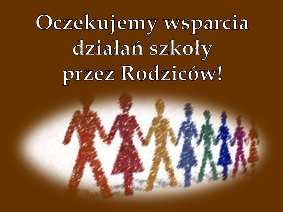 Oczekujemy wsparcia działań szkoły