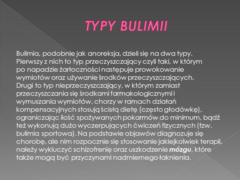 TYPY BULIMII