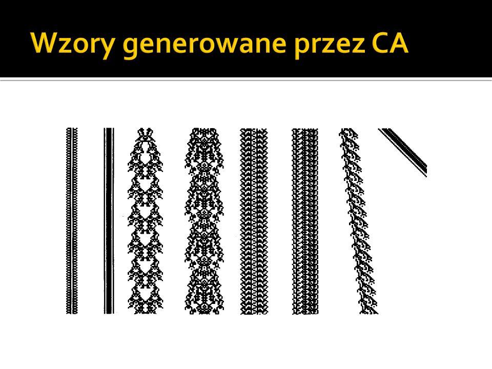 Wzory generowane przez CA