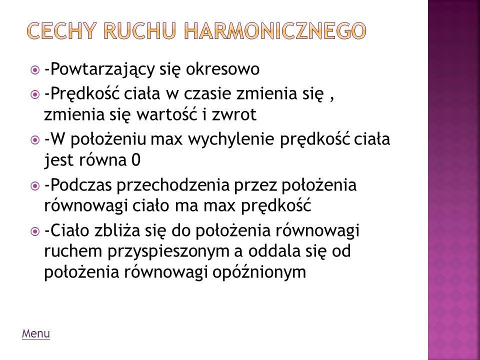 Cechy ruchu Harmonicznego