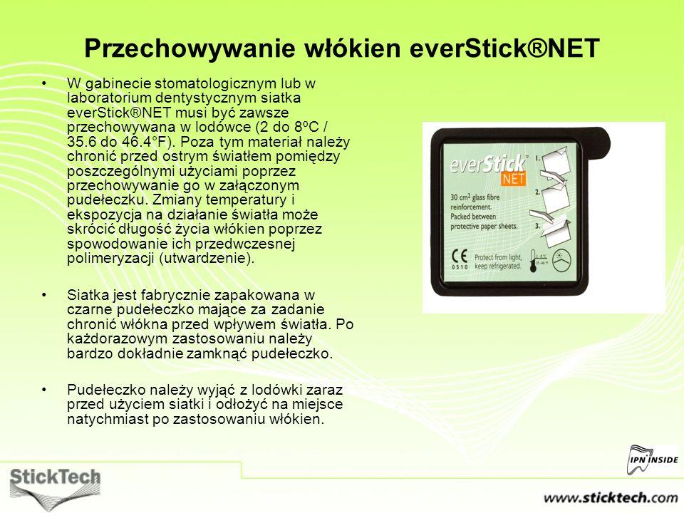 Przechowywanie włókien everStick®NET