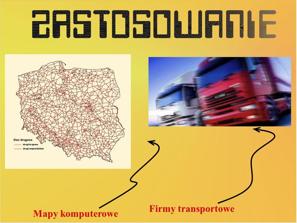 Firmy transportowe Mapy komputerowe