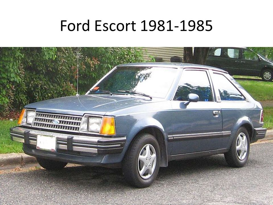 Ford Escort 1981-1985