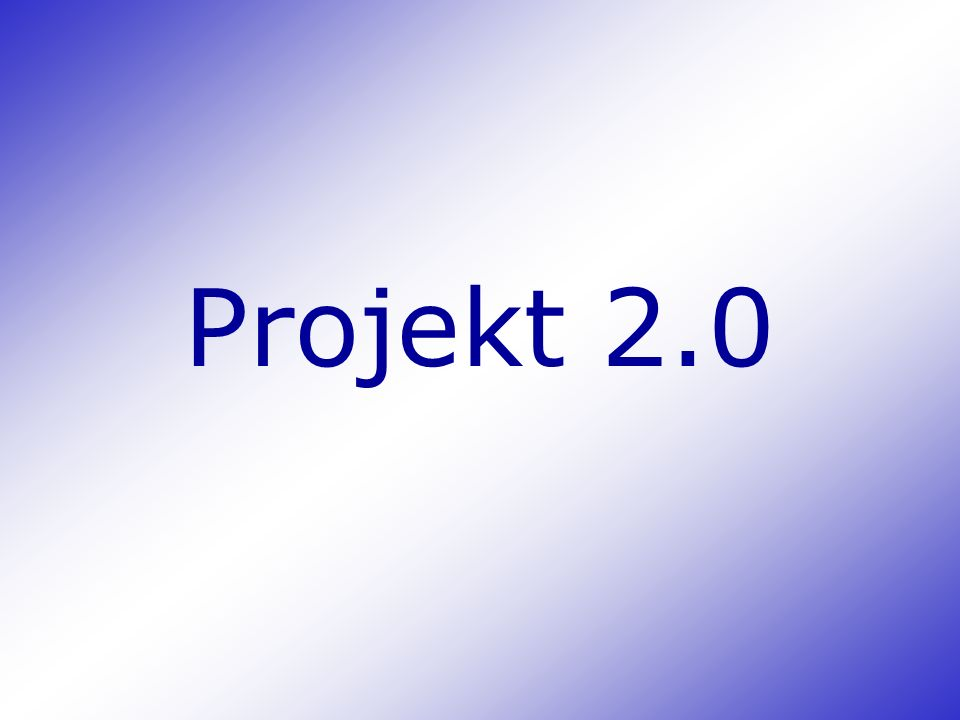 Projekt 2.0