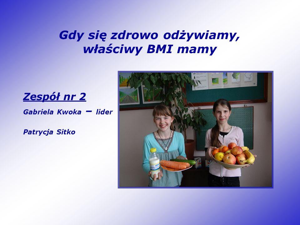 Gdy się zdrowo odżywiamy, właściwy BMI mamy