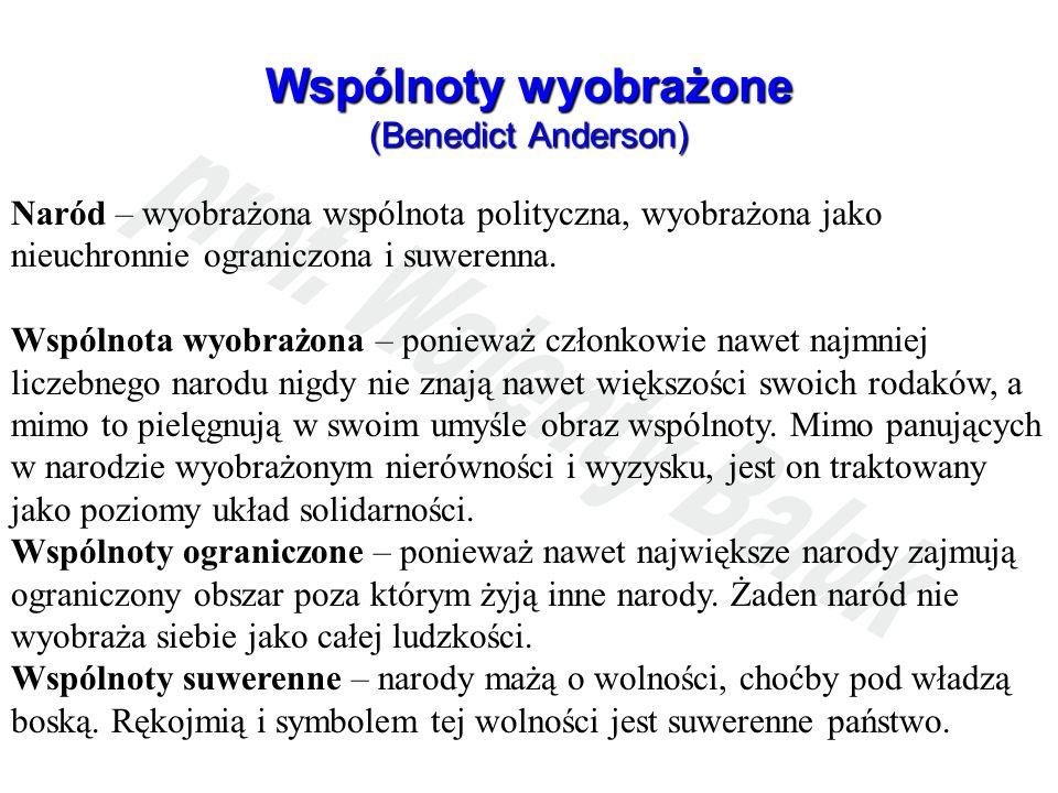 Wspólnoty wyobrażone (Benedict Anderson)