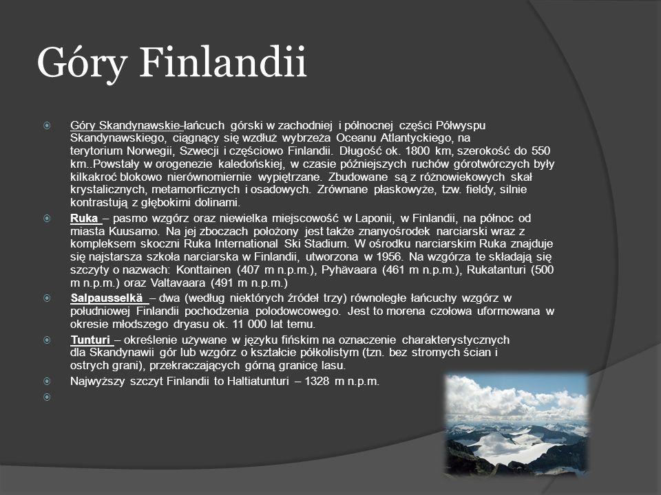 Góry Finlandii