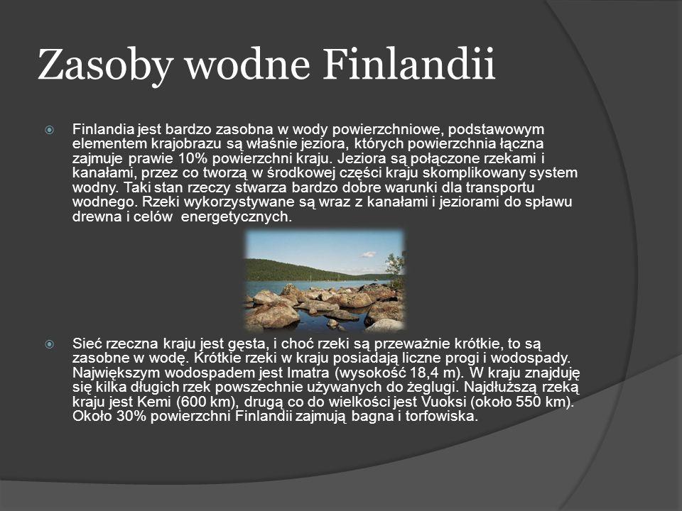 Zasoby wodne Finlandii