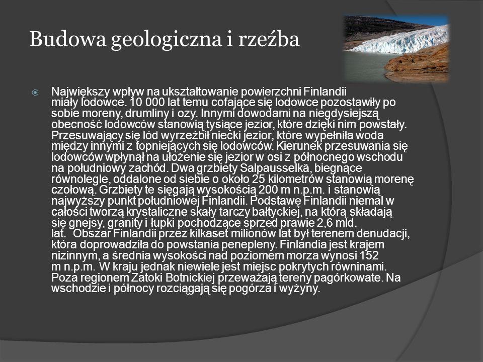 Budowa geologiczna i rzeźba