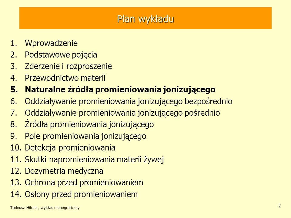 Plan wykładu Wprowadzenie Podstawowe pojęcia Zderzenie i rozproszenie