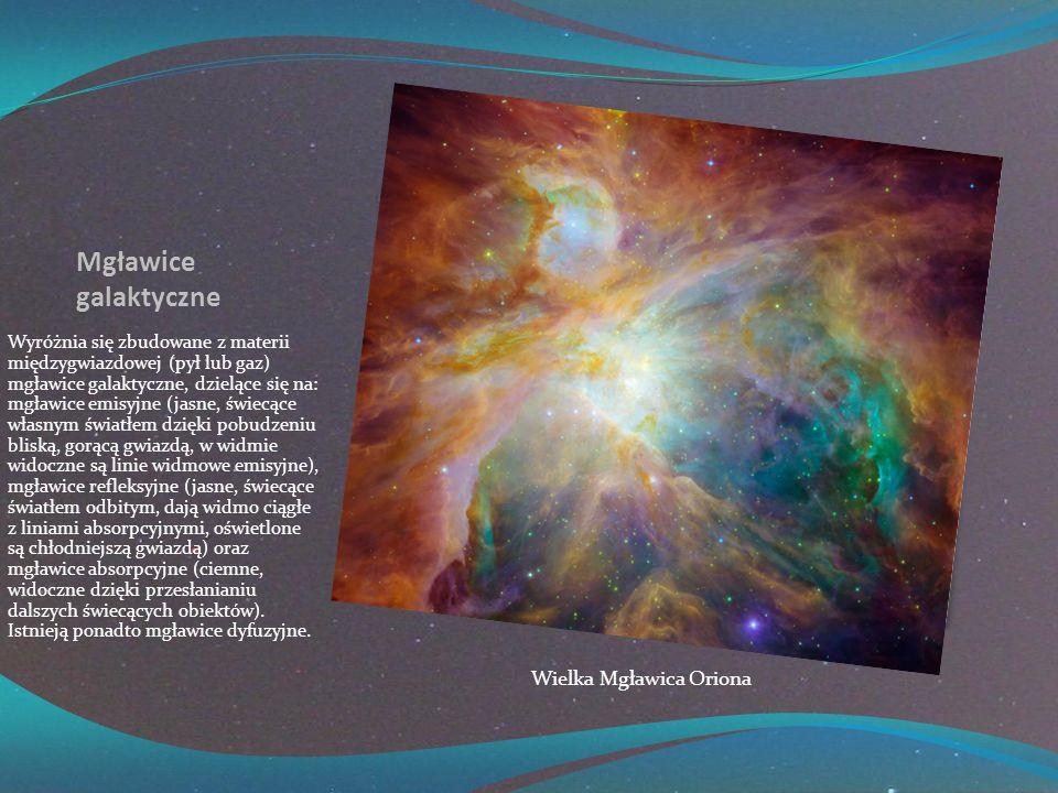 Mgławice galaktyczne Wielka Mgławica Oriona