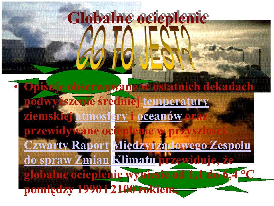 Globalne ocieplenie CO TO JEST