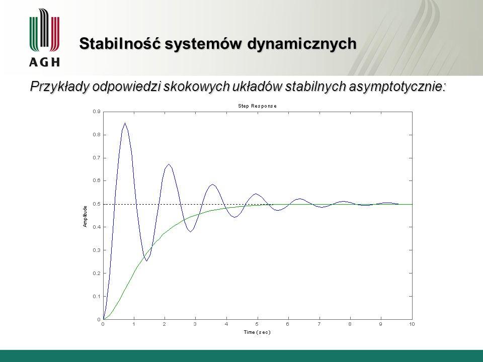 Stabilność systemów dynamicznych