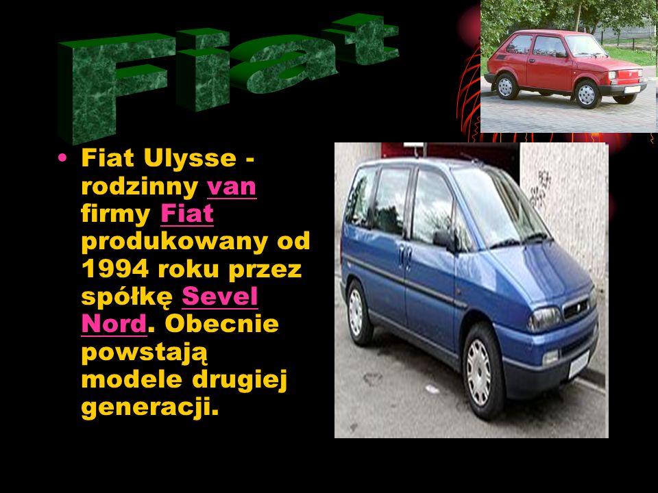 Fiat Fiat Ulysse - rodzinny van firmy Fiat produkowany od 1994 roku przez spółkę Sevel Nord.