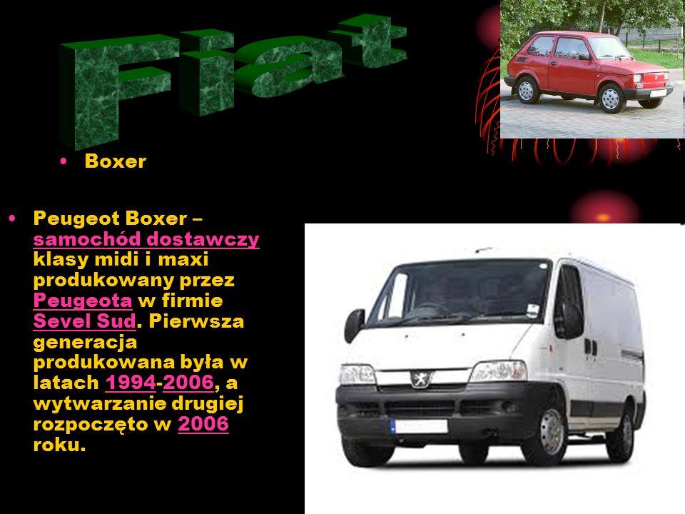 Fiat Boxer.