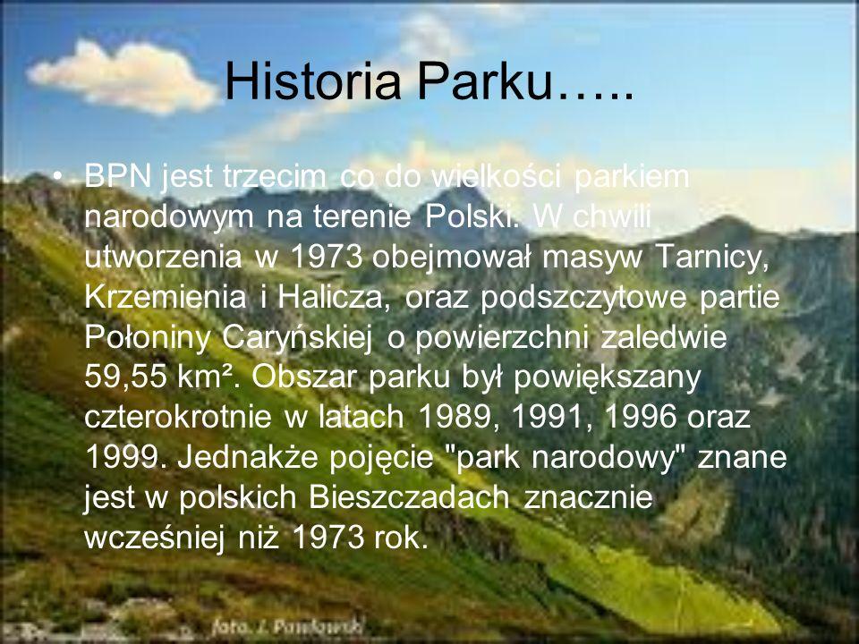 Historia Parku…..