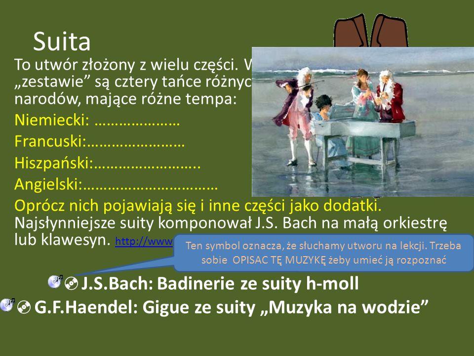 Suita J.S.Bach: Badinerie ze suity h-moll