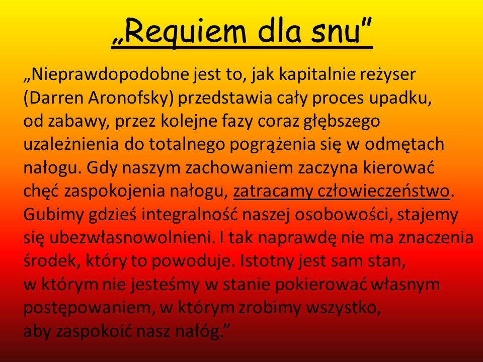 """""""Requiem dla snu"""