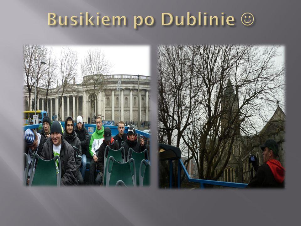 Busikiem po Dublinie 