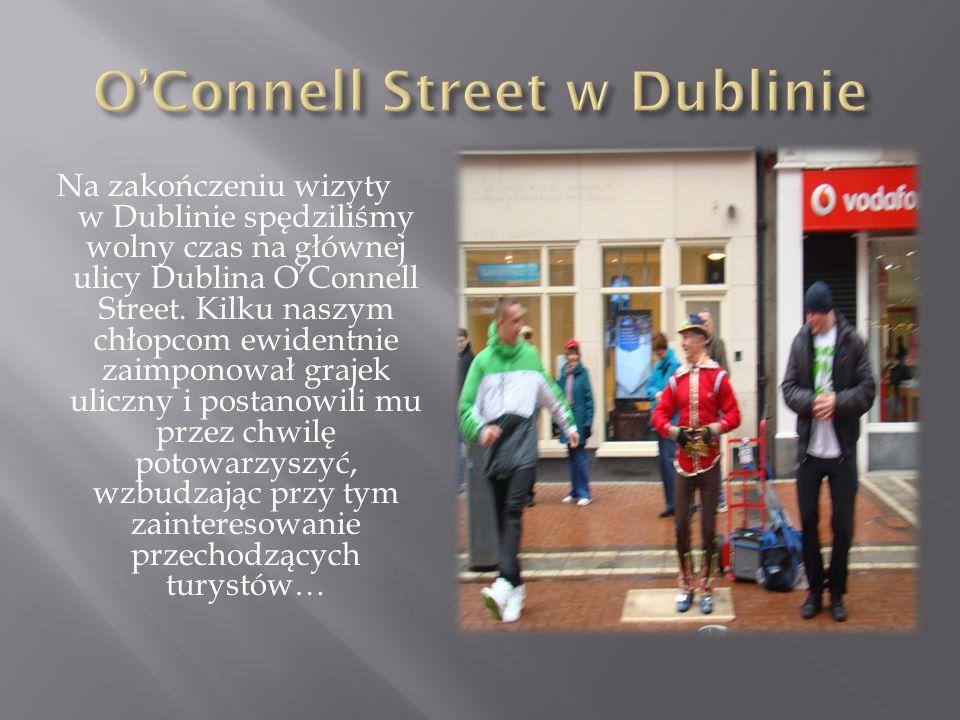 O'Connell Street w Dublinie