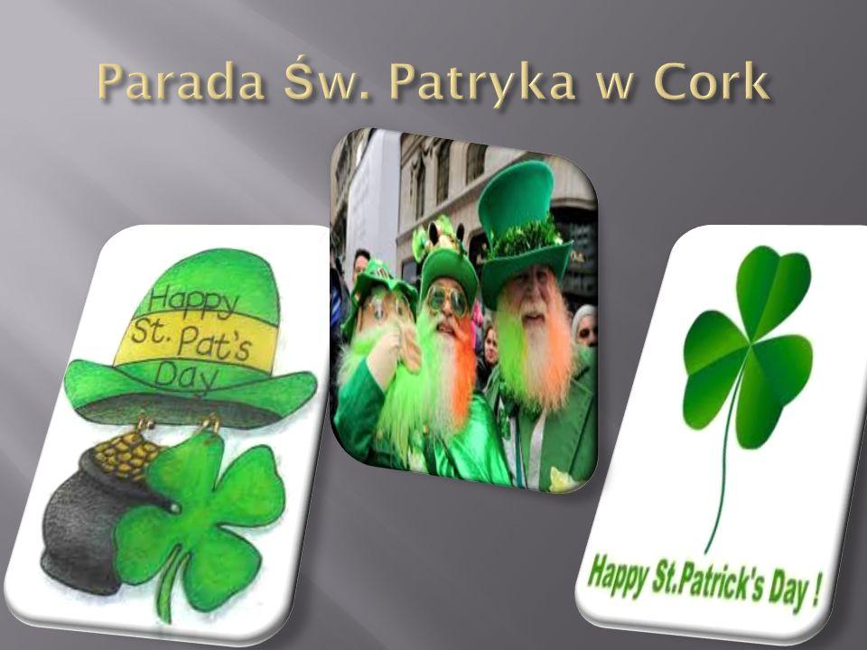 Parada Św. Patryka w Cork