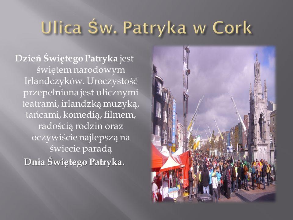 Ulica Św. Patryka w Cork
