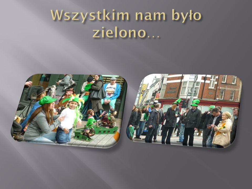 Wszystkim nam było zielono…