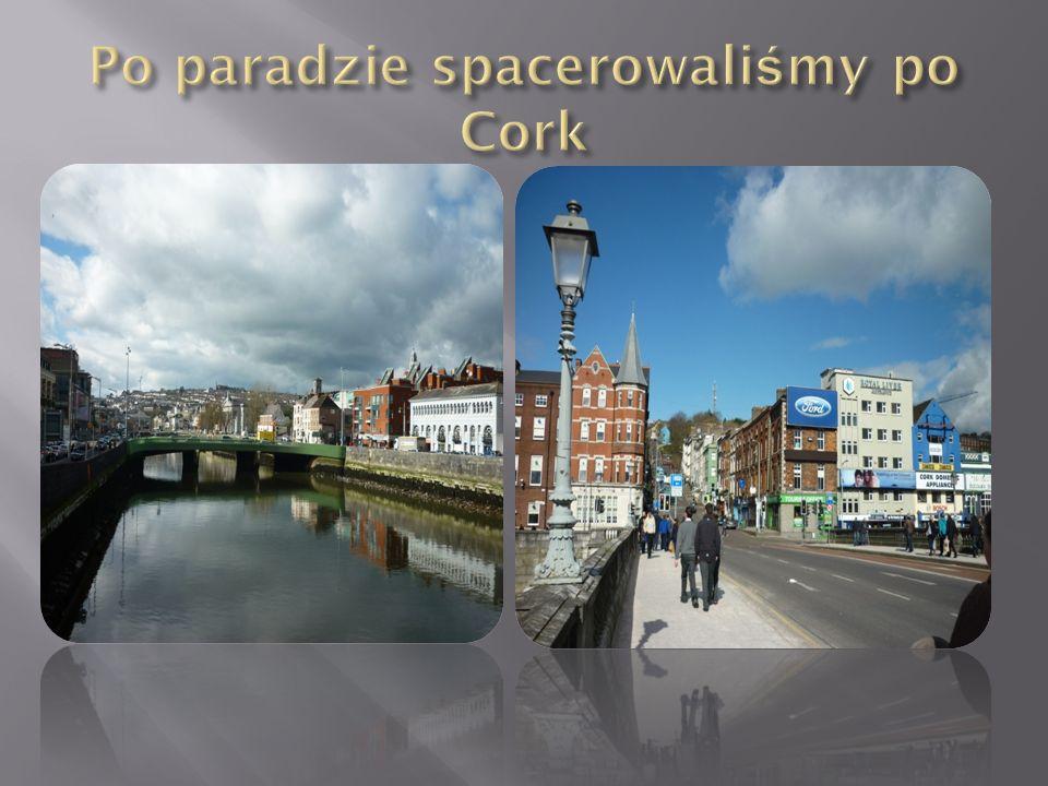 Po paradzie spacerowaliśmy po Cork