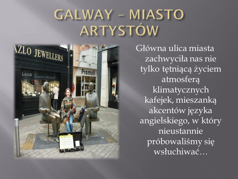 GALWAY – MIASTO ARTYSTÓW