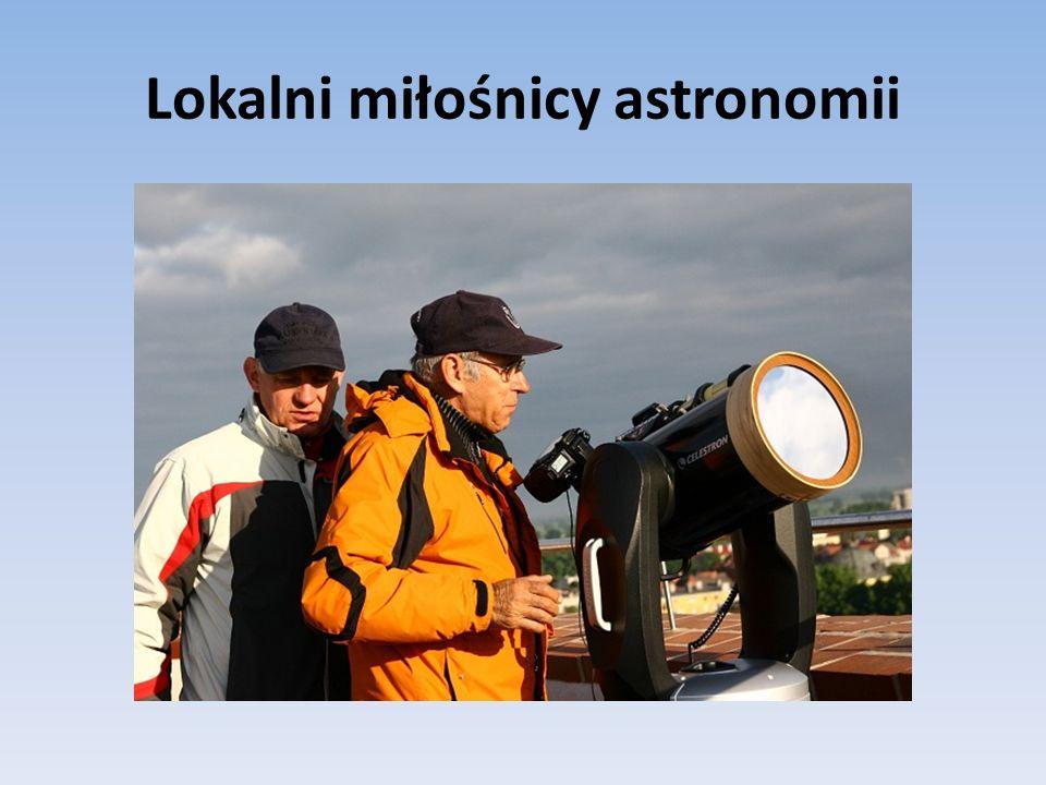 Lokalni miłośnicy astronomii