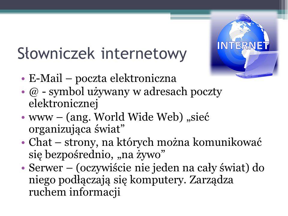 Słowniczek internetowy