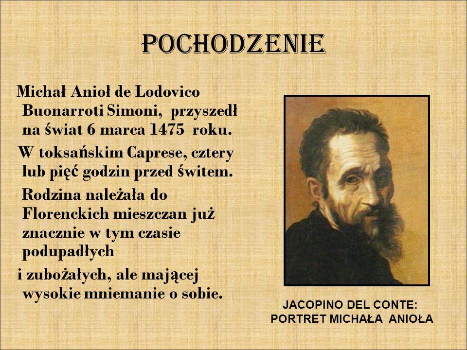 PORTRET MICHAŁA ANIOŁA