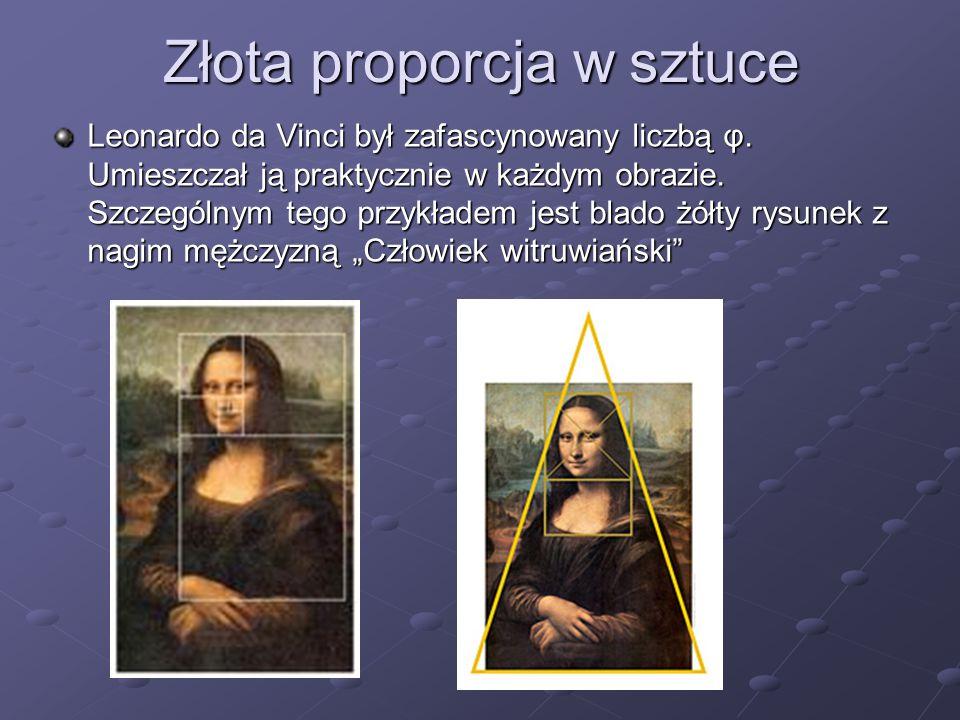 Złota proporcja w sztuce