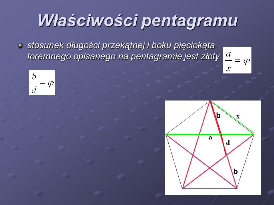 Właściwości pentagramu