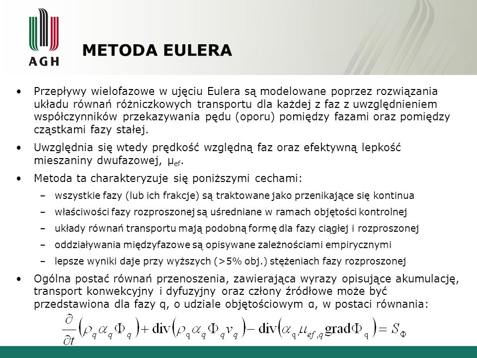 METODA EULERA