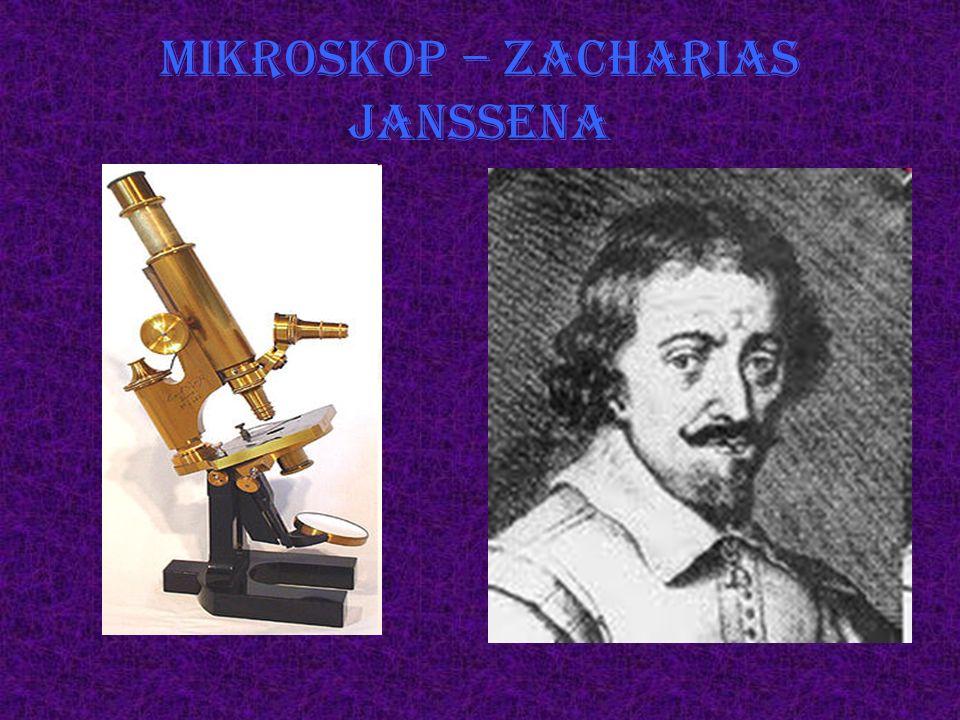 Mikroskop – Zacharias Janssena