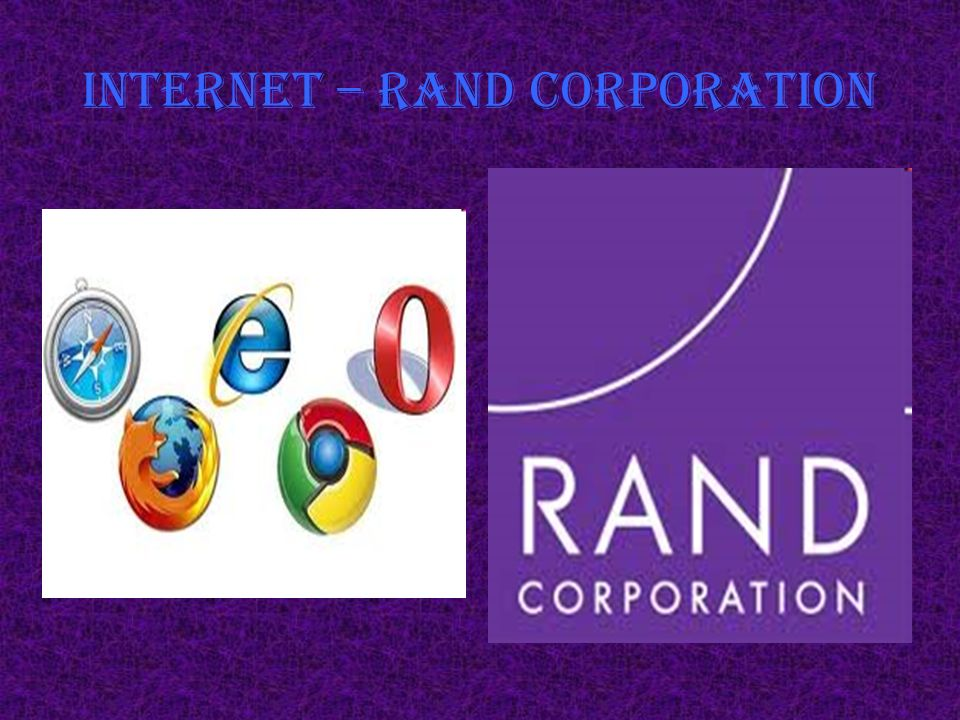 Internet – RAND corporation