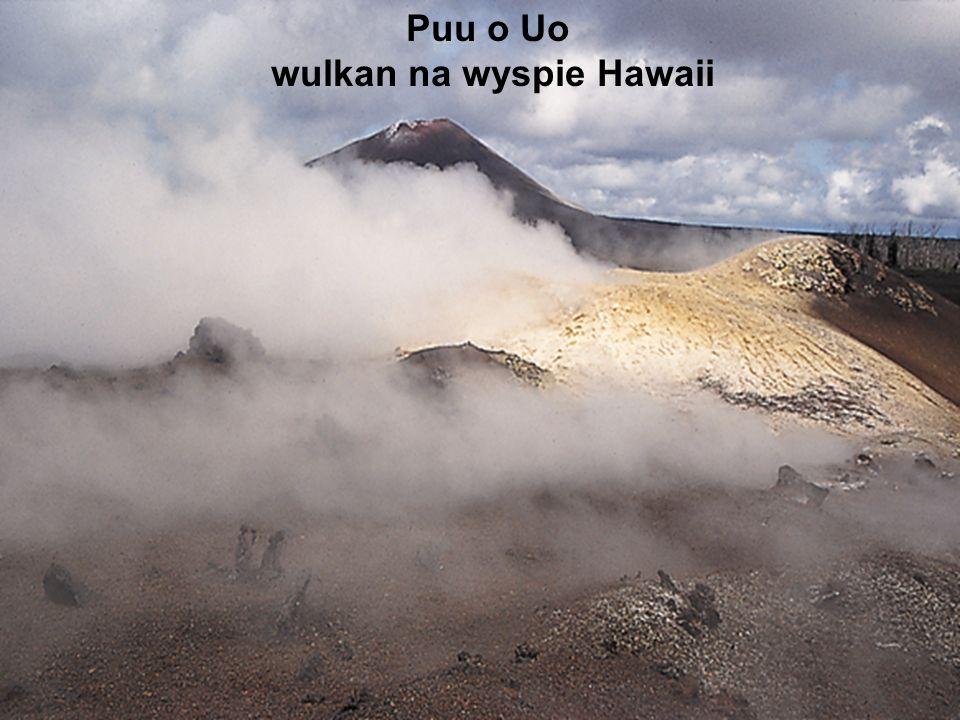wulkan na wyspie Hawaii