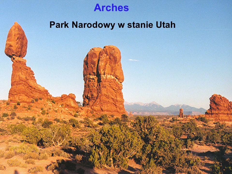 Park Narodowy w stanie Utah