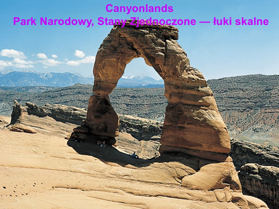 Park Narodowy, Stany Zjednoczone — łuki skalne