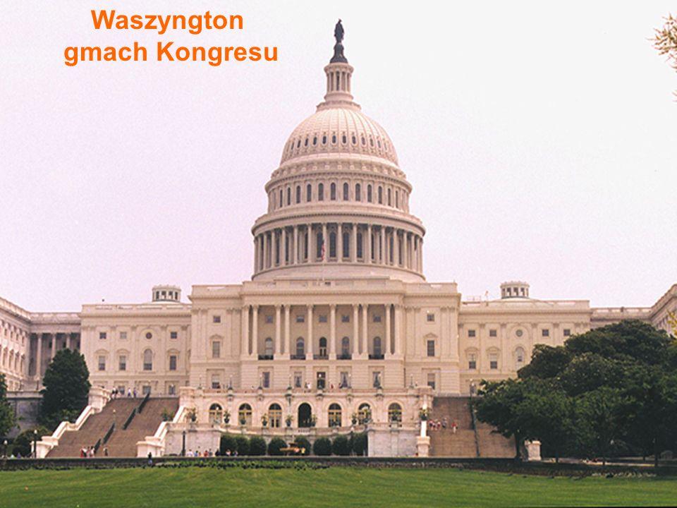 Waszyngton gmach Kongresu