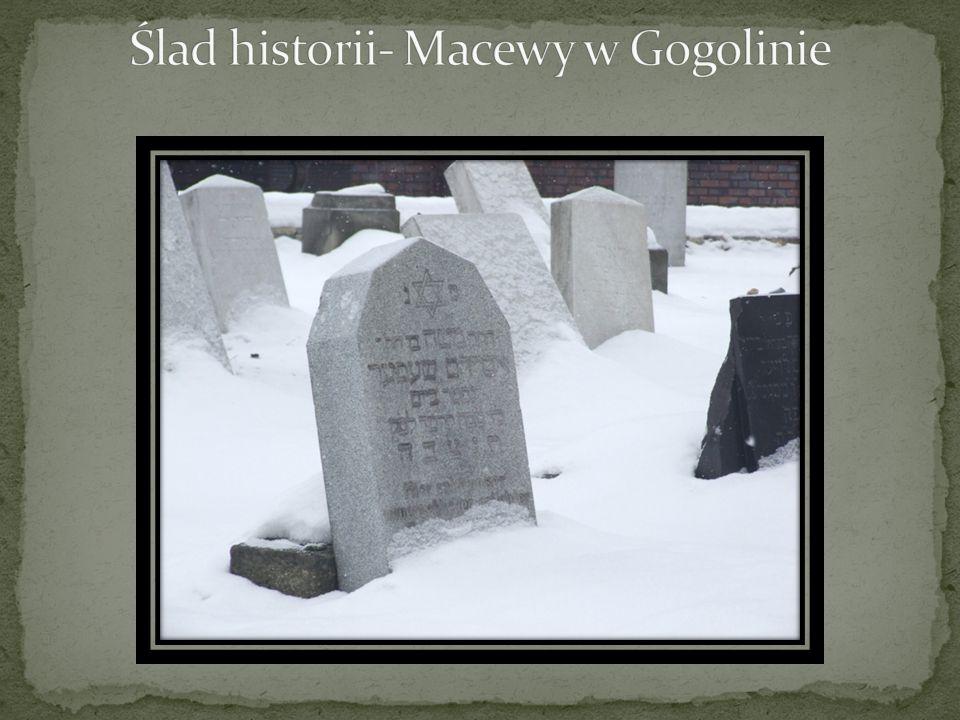 Ślad historii- Macewy w Gogolinie